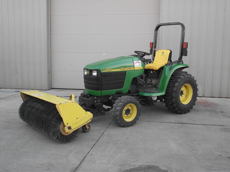 Tractor Rotary Broom For Garden : Tractor power broom package fdl rental